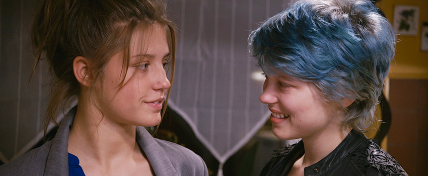 - Blue Is the Warmest Color cover - Filmy z roku 2013